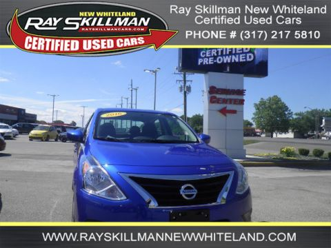 Pre-Owned 2016 Nissan Versa S FWD Sedan